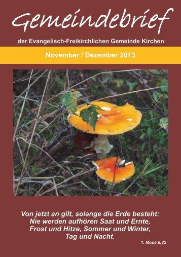Gemeindebrief lesen - EFG-Kirchen
