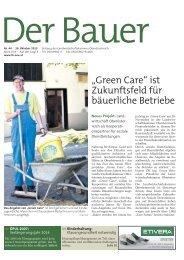 Der Bauer . 30. Oktober 2013 - Landwirtschaftskammer Oberösterreich