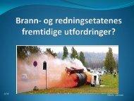 Brann- og redningsetatenes fremtidige utfordringer? - CTIF
