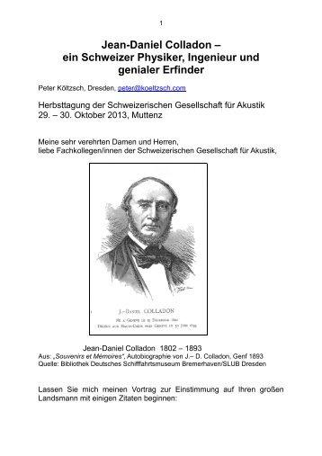 Manuskript des Festvortrages von Peter Költzsch (PDF, 3.6 MB)