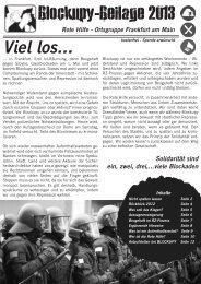 Blockupy-Beilage 2013 - Rote Hilfe - blogsport.eu
