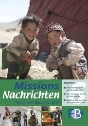 Nachrichten 2010-6 - Missionswerk FriedensBote