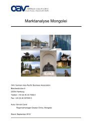 Marktanalyse Mongolei - iXPOS
