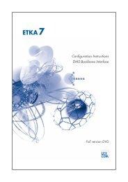 Configuration Instructions DMS-Backbone Interface - ETKAinfo