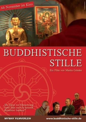 Presseheft downloaden - Buddhistische Stille