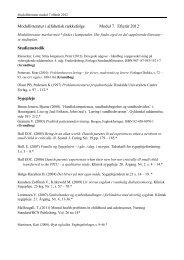Modullitteratur i alfabetisk rækkefølge Modul 7. Efterår 2012 ...