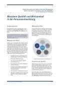 Messbare Qualität und Wirksamkeit in der Personalentwicklung ISO - Seite 2