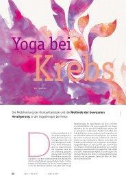 Die Mobilisierung der Brustwirbelsäule und die Methode der ...