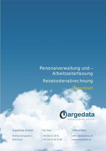 argedata_Datenblatt_PK_AZ.pdf - bei der ArgeData GmbH