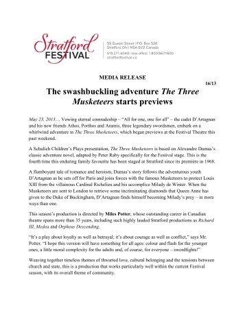 2013-05-23 - Stratford Festival