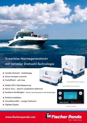 Superleise Marinegeneratoren mit variabler Drehzahl ... - Hamilton AG