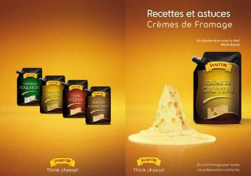 Crème de Fromage Brochure (1.4MB) (PDF Document) - Land'or