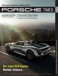 Download PDF. - Porsche Zentrum Winterthur