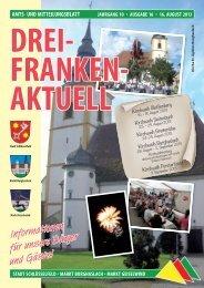 Drei-Franken-Aktuell - Stadt Schlüsselfeld