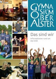 GOA Info 2014 - Gymnasium Oberalster