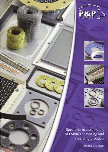 Catalogue - P & P Technology Ltd