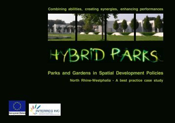 Parks and Gardens in Spatial Development Policies - Hybrid Parks
