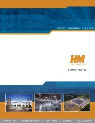 firmenprofil - H+M Company, Inc.