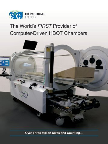 The World's FIRST Provider of Computer-Driven HBOT Chambers