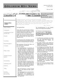 1. Elternbrief 2010/2011 - Gutenberg Realschule plus Göllheim
