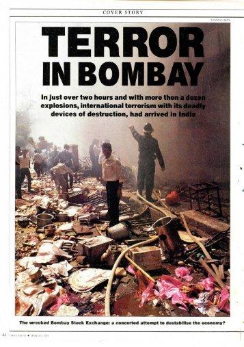 Terror in Bombay - India Today