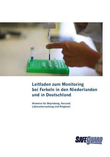 Leitfaden zum Monitoring bei Ferkeln in den ... - SafeGuard - GIQS