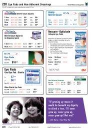 Dressings & Bandages - Vital Medical Supplies