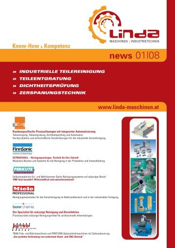 news 01|08 - LINDA Maschinen | Industrietechnik