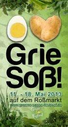 Programmheft 2013 zum Download - Grüne Soße Festival