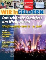 Das schönste Stadtfest am Niederrhein - WIR in Geldern