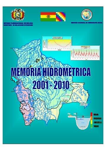 MEMORIA_HIDROMETRICA_2001-2010 PARTE I (4589kb.)