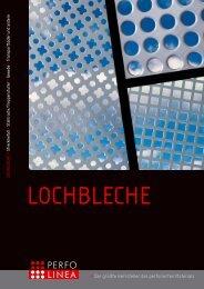 Lochbleche Katalog - PERFO LINEA