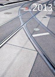 Berichterstattung cemsuisse 2013 - Schweizer Zement