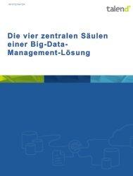 Die vier zentralen Säulen einer Big-Data- Management ... - Talend
