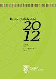 Download Geschäftsbericht 2012 - Gemeinnütziger Spar- und ...