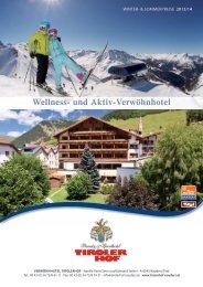 Preisliste 2013/2014 zum Download - Tirolerhof