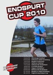 e n d s p u r t endspurt c u p 2 0 1 0 cup - Sportshop-Endspurt
