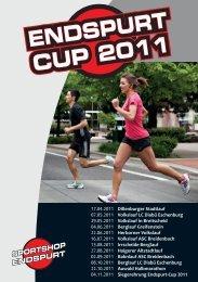 ENDSPURT CUP2011 ENDSPURT CUP 2011 - Sportshop-Endspurt