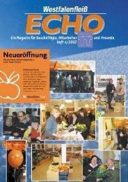 Ausgabe 4 - 04 / 2002 - Westfalenfleiß GmbH