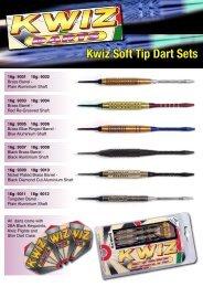 Kwiz Soft Tip Dart Sets - Sportsdivision