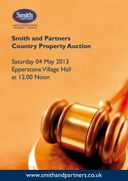 Smith and Partners Country Property Auction Saturday 04 May 2013 ...