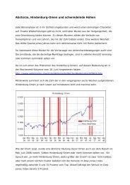 Abstürze, Hindenburg-Omen und schwindelnde Höhen