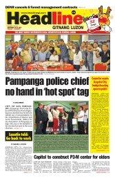 Capitol to construct P3-M center for elders - Headline Gitnang Luzon