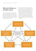 Präventionskampagne Denk an mich. Dein Rücken - Page 6