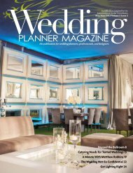 Beyond the Ballroom 8 Catering Needs for Tented Weddings 13 A ...