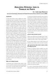 analgesia epidural para el trabajo de parto - Editorial OB STARE