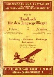 Handbuch für den Jungsegelflieger