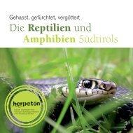 Die Reptilien und Amphibien Südtirols