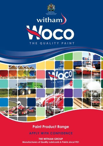 Woco brochure - Witham Oil and Paint