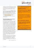 OdAktuell Oktober 2008 - OdA Gesundheit Bern - Page 6
